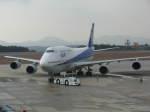 Airfly-Superexpressさんが、広島空港で撮影した全日空 747-481(D)の航空フォト(写真)