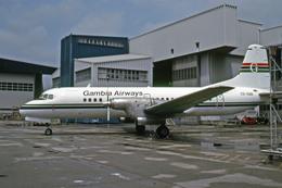 全日空整備で撮影されたガンビア航空 - Gambia Airwaysの航空機写真