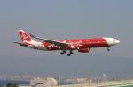 えんどうまめさんが、関西国際空港で撮影したエアアジア・エックス A330-343Xの航空フォト(写真)