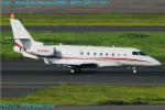 Chofu Spotter Ariaさんが、羽田空港で撮影したアジア・ジェット Gulfstream G200の航空フォト(飛行機 写真・画像)