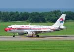 じーく。さんが、新潟空港で撮影した中国東方航空 A319-115の航空フォト(飛行機 写真・画像)