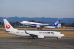 Airfly-Superexpressさんが、鹿児島空港で撮影した日本航空 737-846の航空フォト(写真)