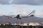 turt@かめちゃんさんが、伊丹空港で撮影した大韓民国空軍 747-4B5の航空フォト(写真)