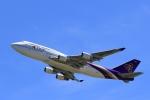 jinopekoさんが、関西国際空港で撮影したタイ国際航空 747-4D7の航空フォト(写真)