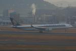 Airfly-Superexpressさんが、福岡空港で撮影したシンガポール航空 A330-343Xの航空フォト(写真)