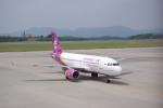 Airfly-Superexpressさんが、広島空港で撮影したフンヌ・エアー A319-112の航空フォト(写真)
