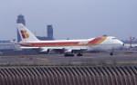 kumagorouさんが、成田国際空港で撮影したイベリア航空 747-256Bの航空フォト(写真)