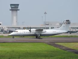 わたくんさんが、高松空港で撮影した国土交通省 航空局 DHC-8-315Q Dash 8の航空フォト(飛行機 写真・画像)
