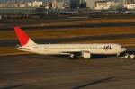ちょっぱさんが、羽田空港で撮影した日本航空 767-346の航空フォト(写真)