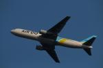 ちょっぱさんが、羽田空港で撮影したAIR DO 767-381の航空フォト(写真)