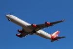 ちょっぱさんが、成田国際空港で撮影したヴァージン・アトランティック航空 A340-313の航空フォト(飛行機 写真・画像)