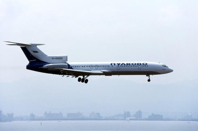 Gambardierさんが、関西国際空港で撮影したプルコボ航空 Tu-154Mの航空フォト(飛行機 写真・画像)