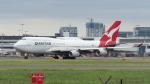 誘喜さんが、シドニー国際空港で撮影したカンタス航空 747-438の航空フォト(写真)