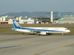 ピーノックさんが、名古屋飛行場で撮影した全日空 A321-131の航空フォト(飛行機 写真・画像)