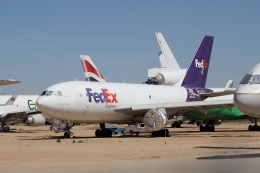 ZONOさんが、サザンカリフォルニアロジステクス空港で撮影したフェデックス・エクスプレス A310-222(F)の航空フォト(飛行機 写真・画像)