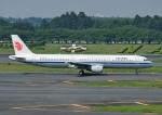じーく。さんが、成田国際空港で撮影した中国国際航空 A321-213の航空フォト(飛行機 写真・画像)