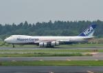 じーく。さんが、成田国際空港で撮影した日本貨物航空 747-8KZF/SCDの航空フォト(写真)