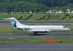じーく。さんが、成田国際空港で撮影したウィルミントン・トラスト・カンパニー BD-700 Global Express/5000/6000の航空フォト(飛行機 写真・画像)