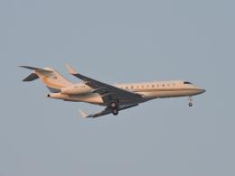 わたくんさんが、福岡空港で撮影したベルジャヤ・エア BD-700-1A11 Global 5000の航空フォト(飛行機 写真・画像)
