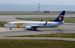 ハピネスさんが、関西国際空港で撮影したMIATモンゴル航空 737-8CXの航空フォト(飛行機 写真・画像)