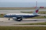 ハピネスさんが、関西国際空港で撮影した中国国際航空 A319-132の航空フォト(飛行機 写真・画像)