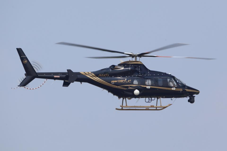T.Sazenさんの中日本航空 Bell 430 (JA04TV) 航空フォト