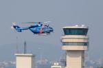 T.Sazenさんが、名古屋飛行場で撮影した愛知県警察 BK117C-1の航空フォト(飛行機 写真・画像)