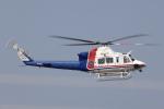 T.Sazenさんが、名古屋飛行場で撮影した愛知県防災航空隊 412EPの航空フォト(写真)