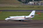 T.Sazenさんが、名古屋飛行場で撮影した朝日航洋 680 Citation Sovereignの航空フォト(飛行機 写真・画像)