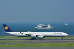 パンダさんが、羽田空港で撮影したルフトハンザドイツ航空 A340-642の航空フォト(飛行機 写真・画像)