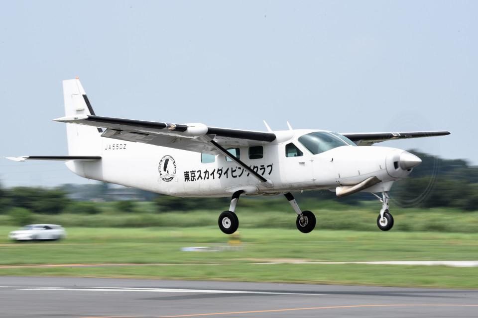tsubasa0624さんのエビエーションサービス Cessna 208 (JA55DZ) 航空フォト