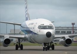 元青森人さんが、小松空港で撮影したエアーニッポン 737-281/Advの航空フォト(飛行機 写真・画像)
