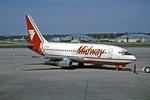 Gambardierさんが、ミネアポリス・セントポール国際空港で撮影したミッドウェイ・エアラインズ 737-2K9/Advの航空フォト(写真)