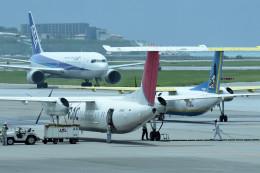 tsubasa0624さんが、那覇空港で撮影した琉球エアーコミューター DHC-8-314 Dash 8の航空フォト(写真)