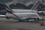 airdrugさんが、香港国際空港で撮影したエミレーツ航空 A380-861の航空フォト(飛行機 写真・画像)