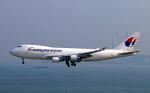 Asamaさんが、香港国際空港で撮影したマレーシア航空 747-4H6F/SCDの航空フォト(写真)