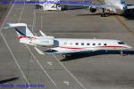 Chofu Spotter Ariaさんが、羽田空港で撮影したウィルミントン・トラスト・カンパニー Gulfstream G650 (G-VI)の航空フォト(写真)