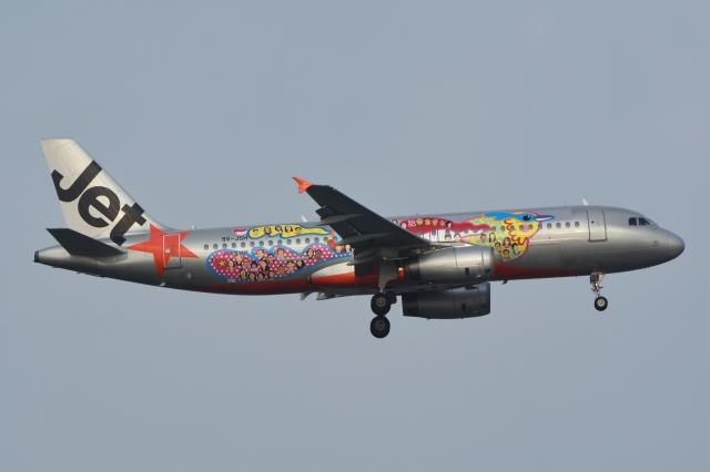 ジェットスター・アジア Airbus A320-200 9V-JSH シンガポール ...