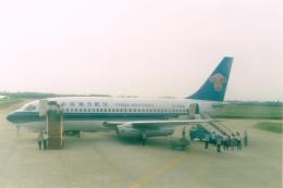 JA8037さんが、汕頭外砂空港で撮影した中国南方航空 737-2T4/Advの航空フォト(飛行機 写真・画像)