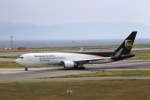 T.Sazenさんが、関西国際空港で撮影したUPS航空 767-34AF/ERの航空フォト(飛行機 写真・画像)