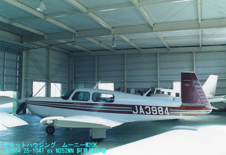 Sorakara_gonさんの日本法人所有 Mooney M20 (JA3984) 航空フォト