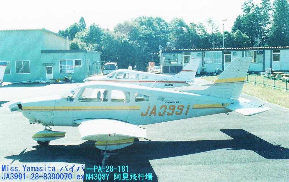 Sorakara_gonさんの日本個人所有 Piper PA-28 Cherokee (JA3991) 航空フォト