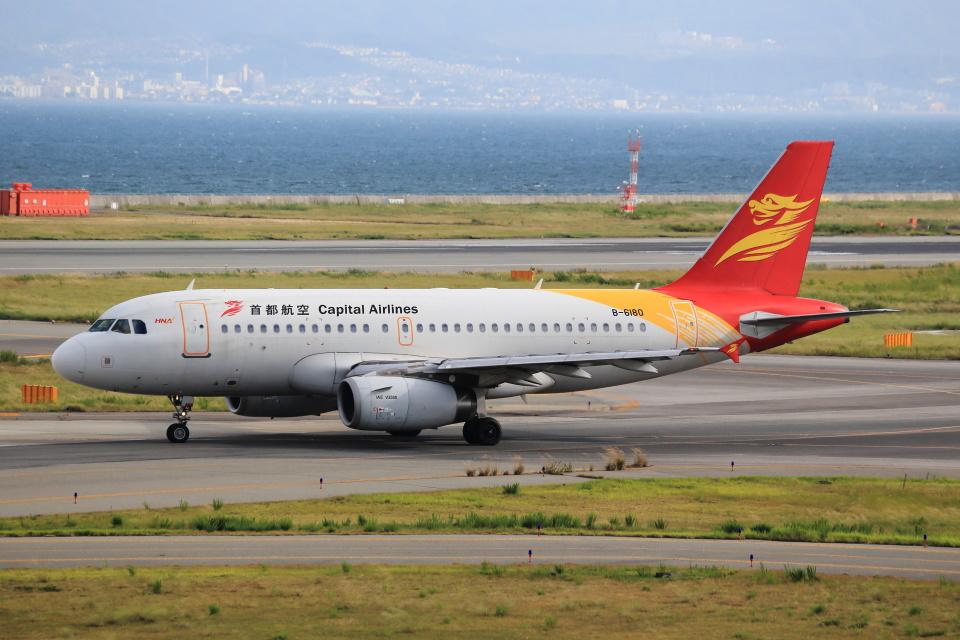T.Sazenさんの北京首都航空 Airbus A319 (B-6180) 航空フォト