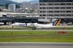 ハピネスさんが、伊丹空港で撮影した日本エアコミューター DHC-8-402Q Dash 8の航空フォト(飛行機 写真・画像)