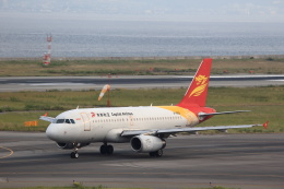 T.Sazenさんが、関西国際空港で撮影した北京首都航空 A319-132の航空フォト(飛行機 写真・画像)