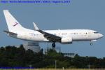Chofu Spotter Ariaさんが、成田国際空港で撮影した金鹿航空 737-73W BBJの航空フォト(飛行機 写真・画像)