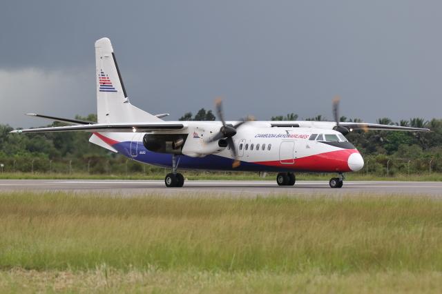 2015年08月11日に撮影されたカンボジア・バイヨン・エアラインズの航空機写真
