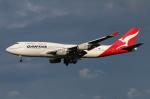 南十字星さんが、成田国際空港で撮影したカンタス航空 747-438の航空フォト(飛行機 写真・画像)