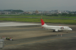 ぼのさんが、宮崎空港で撮影したジェイエア ERJ-170-100 (ERJ-170STD)の航空フォト(飛行機 写真・画像)