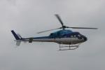 ショウさんが、東京ヘリポートで撮影したエクセル航空 AS355N Ecureuil 2の航空フォト(写真)